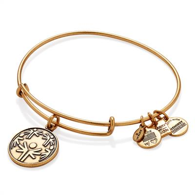 Buy Alex and Ani The Power of Unity Bangle in Rafaelian Gold