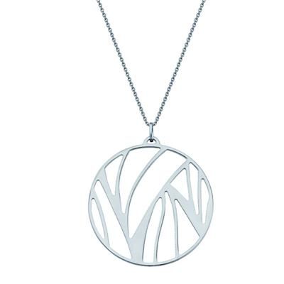 Buy Les Georgettes Silver Perroquet Pendant Medium