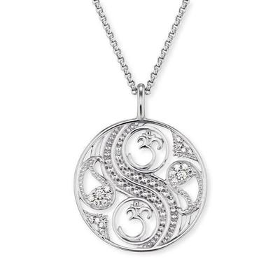 Buy Engelsrufer Silver CZ Balance Necklace