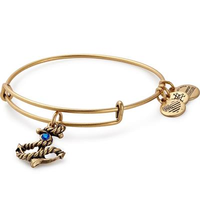 Buy Alex and Ani Anchor in bangle Rafaelian Gold Finish
