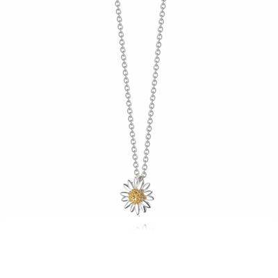 Buy Vintage Daisy 10mm Pendant Necklace