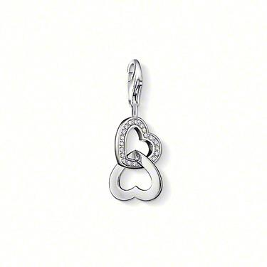 Buy Thomas Sabo Interlocking Hearts Charm