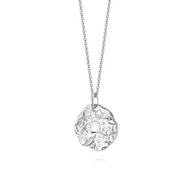 Buy Daisy Silver Fossil Necklace