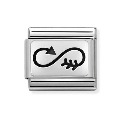 Buy Nomination Silver Arrow Infinity Charm