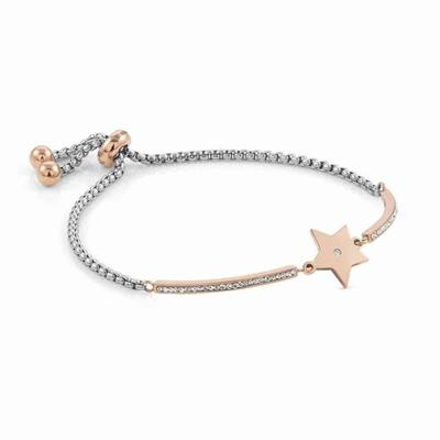 Buy Nomination Milleluci Star Bracelet, Rose gold