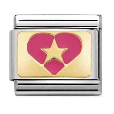 Buy Nomination Pink Star Heart