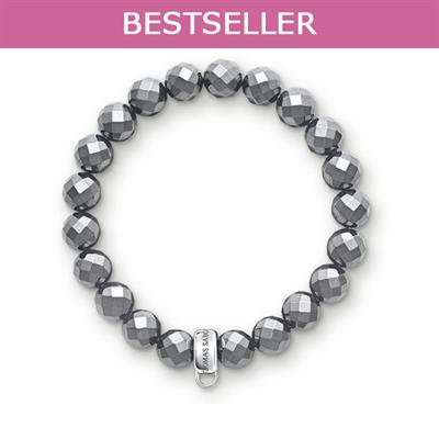 Buy Thomas Sabo Hematite Medium Charm Bracelet