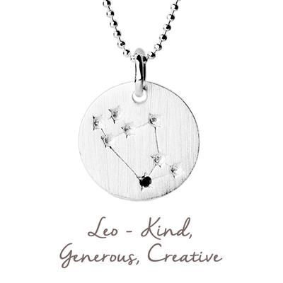 Buy Mantra Leo Star Map in Silver