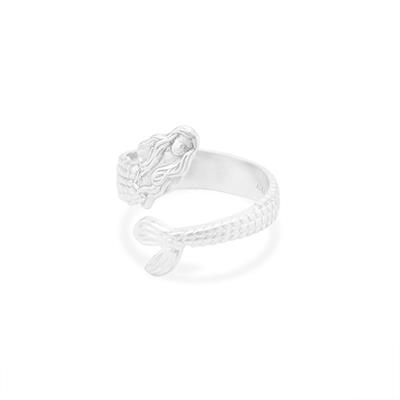 Buy Alex and Ani Mermaid Ring Wrap in Silver