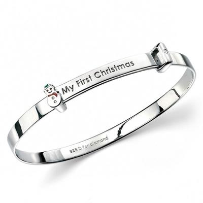 Buy DforDiamond My 1st Christmas Bangle