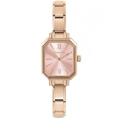 Buy Nomination Rose Gold Pink Dial Watch