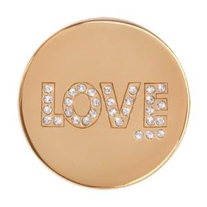 Buy Nikki Lissoni Gold Love Coin 33mm