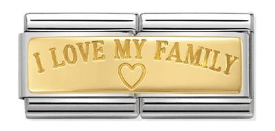 Buy Nomination I Love My Family Double Link