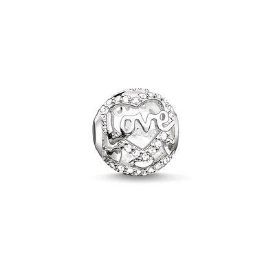 Buy Thomas Sabo Heart of Love Silver Karma Bead