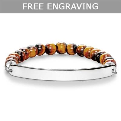 Buy Thomas Sabo Love Bridge Tigers Eye Bracelet XLarge