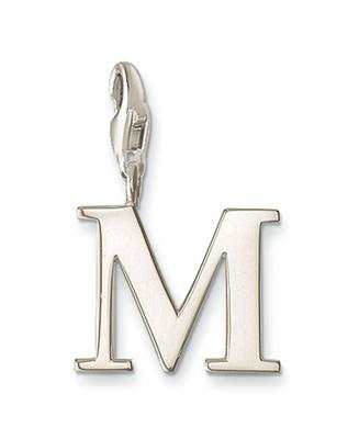Buy Thomas Sabo Silver Letter M Charm