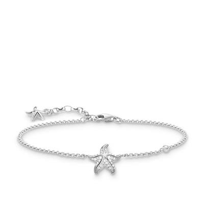 Buy Thomas Sabo Silver CZ Starfish Bracelet
