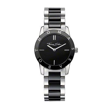 Buy Thomas Sabo 30mm Black Ceramic Watch