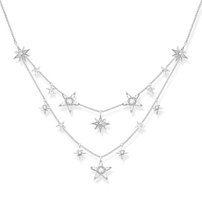 Buy Thomas Sabo Multi Star Necklace
