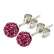 Buy Tresor Paris Candeur 8mm Rose Studs