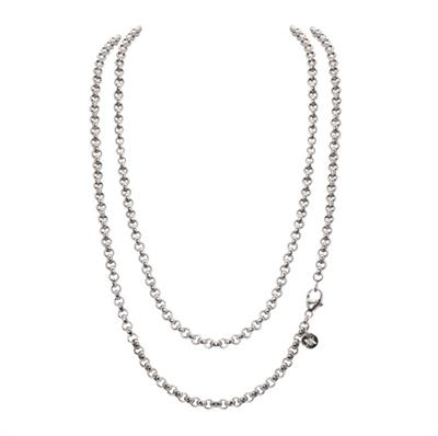 Buy Nikki Lissoni Silver 90cm Chain