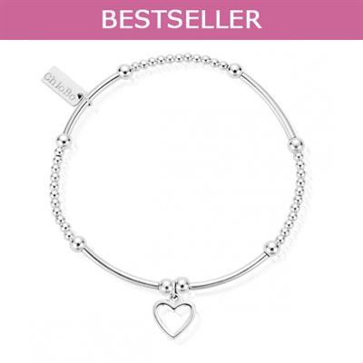Buy ChloBo Cute Mini Open Heart Bracelet