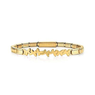 Buy Nomination Gold Trendsetter Butterfly Bracelet
