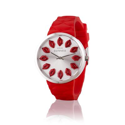 Buy Lulu Guinness Red Strap Red Lips Mischief Collection
