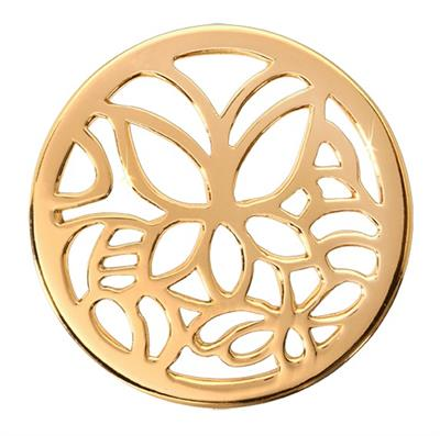 Buy Nikki Lissoni Gold Butterfly Medium Coin 33mm