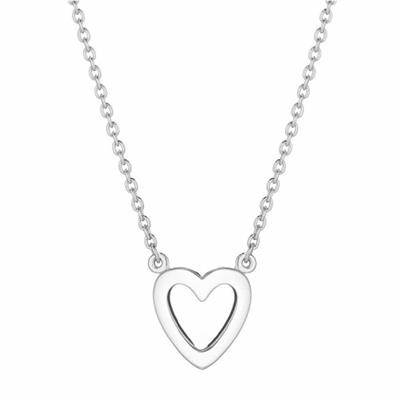 Buy Daisy Open Heart Silver Good Karma Necklace
