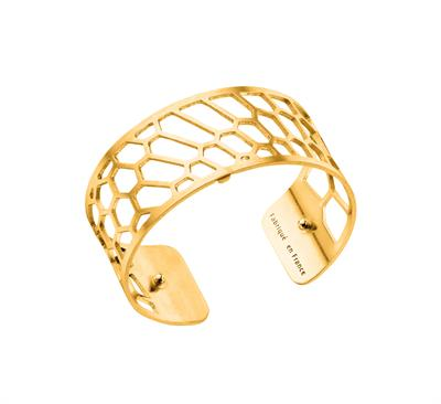 Buy Les Georgettes Gold Honeycomb Medium Cuff