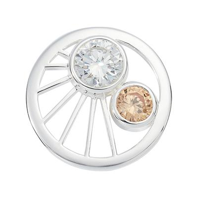 Buy Nikki Lissoni Silver Small Wonder Coin 23mm