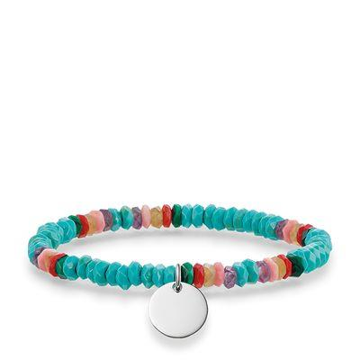 Buy Thomas Sabo Turquoise Love Bridge Bracelet Large