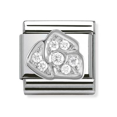 Buy Nomination Silver CZ Flower