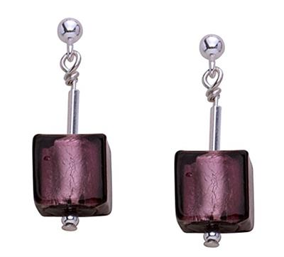 Buy Gaventa Dark Amethyst Earrings