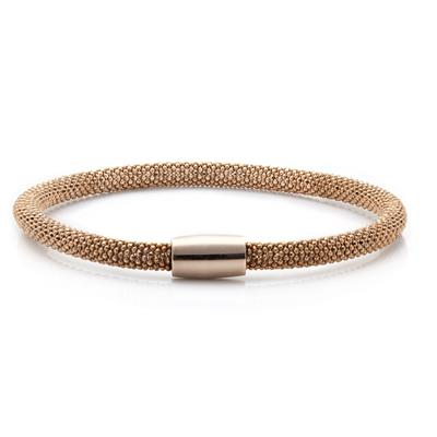Buy Pure Attraction Medium Gold Mesh Bracelet