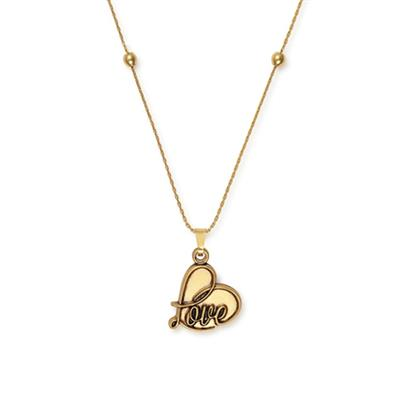 Buy Alex and Ani Love Expandable Necklace in Rafaelian Gold