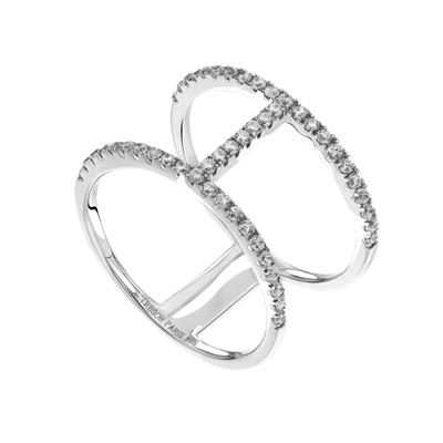 Buy Tresor Paris Metric T Bar Ring Size L