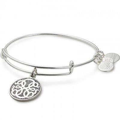 Buy Alex and Ani Path of Life Colour Infusion Bangle in Shiny Silver