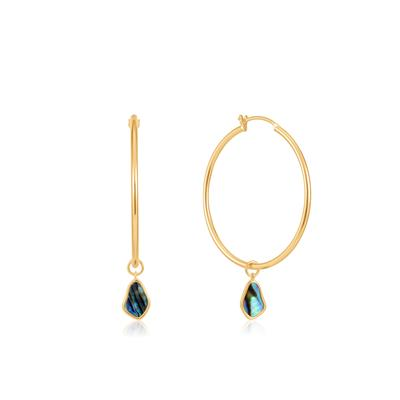 Buy Ania Haie Turning Tides Abalone & Gold Drop Earrings