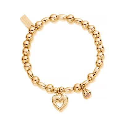 Buy ChloBo Yellow Gold Divine Fortune Bracelet