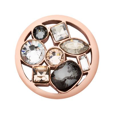 Buy Nikki Lissoni Rose Gold Swarovski My Treasury Coin 23mm