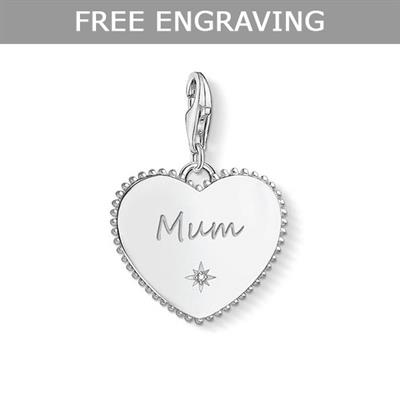 Buy Thomas Sabo CZ Mum in Heart Charm