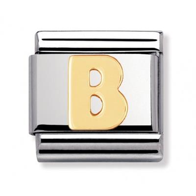 Buy Nomination Gold Letter B