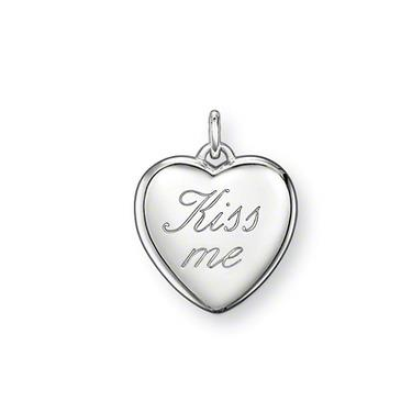 Buy Thomas Sabo Sterling Silver Kiss Me Special Additions Pendant