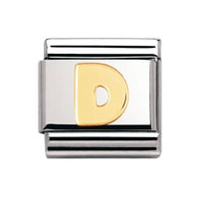 Buy Nomination Gold Letter D