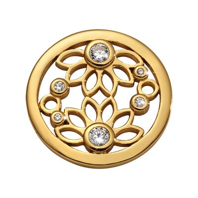 Buy Nikki Lissoni Gold Spring Time Coin 23mm