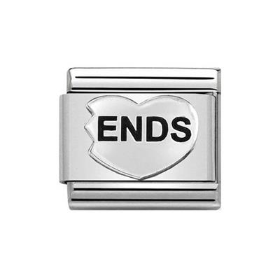 Buy Nomination ENDS Heart Charm