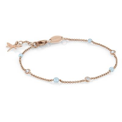 Buy Nomination Rose Gold Bella Dragonfly Bracelet
