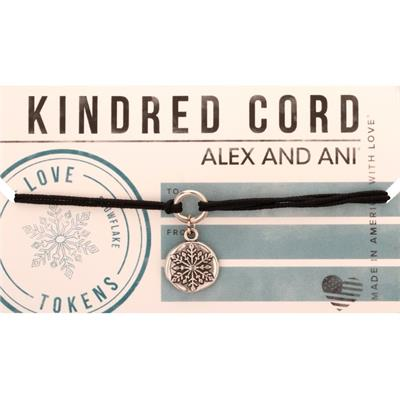 Buy Alex and Ani Snowflake Kindred Cord Bracelet
